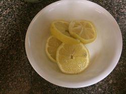 Lemon Water!!