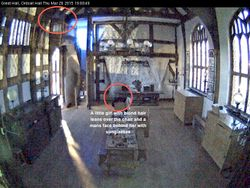 Ordsall Hall captures from today (in chronological order)