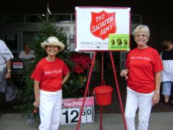 Salvation Army Bell Ringing 2012