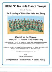 Church on the Square Flyer 2013
