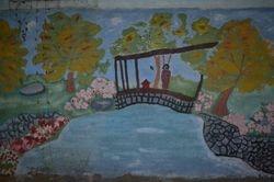 Group 4 Geisha on a Bridge