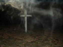 Indian Head Cemetery Cross