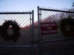Indian Head Cemetery Entrance