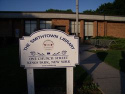 The Smithtown Library Kings Park Branch
