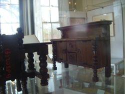 Elgin sideboard displayed in a mansion house in Enfield.