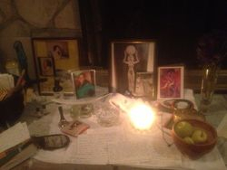 Birthing and Womb Wellness Altar