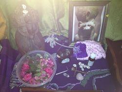 Birthing Altar for Kwesi, Boy born on Sunday