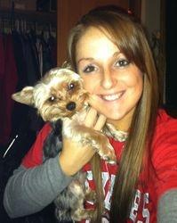 Jana,  Drew's gf and wally BWs pup