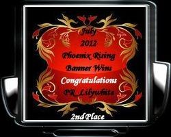 July 2012   PR_Lilywhite 2nd Place Awards