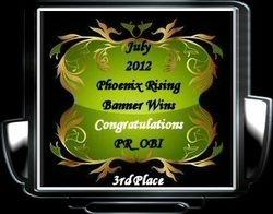 July 2012  PR_OBI 3rd Place Awards