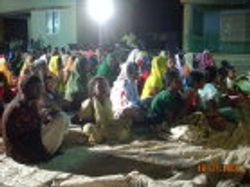 Women congregation