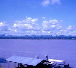 Looking towards Laos