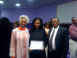 Bishop Hunter, Rev. Bell and Deacon Kirkpatrick