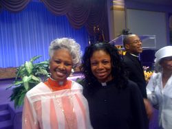 Bishop Hunter and Rev. Bell (Rev. Thompson in background)