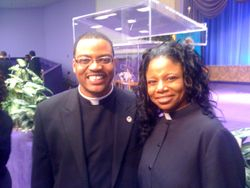 Rev. Johnson and Rev. Bell