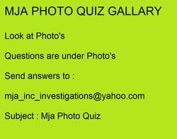 MJA PHOTO QUIZ GALLARY