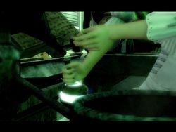 Eagle making magic elixirs