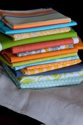 my single girl quilt stack...maybe.