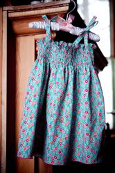 """""""Smocked"""" Dress from Weekend Sewing"""