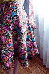 Yard Sale Wrap Skirt from Weekend Sewing
