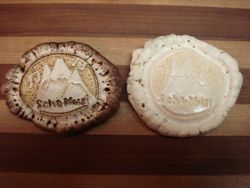 Elk Antler Belt Buckle Carvings