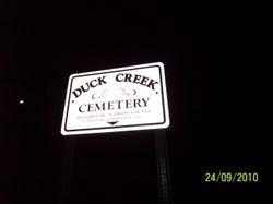 Duck creek Cemetary