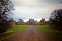 724 Blenheim Palace north front