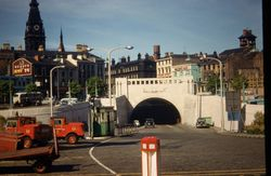 755 Mersey Tunnel entrance Liverpool