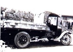 Bill Boyd's truck c 1925