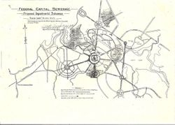 Map showing line of Main Intercepting sewer