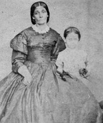 Ann Price nee Cooper with youngest daughter