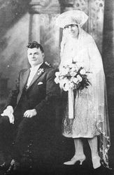 Maud Chapman & Les Leahey marriage