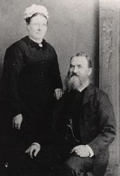 Sarah Ann Giles and her husband