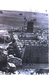The Brickyards under construction 1913