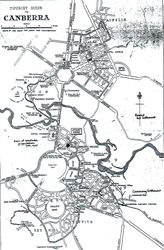Touris Map Canberra 1933