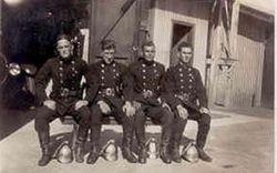 Firemen Canberra 1920s