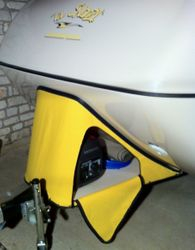 Generator Cover open