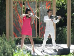 FUSE Perform at The Royal Chelsea Flower Show
