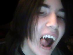 Second shot of fangs! :D