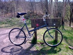 On the Monsal Trail