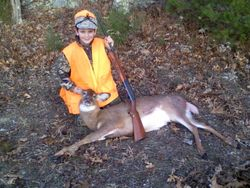 Chase 9 year olds 1st deer
