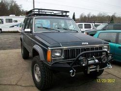 Jeep Winch on Jeep