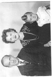 Robert;s son Hubert and family