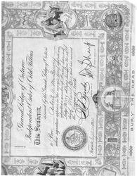 Oddfellows Certificate
