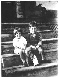 Robert's youngest children