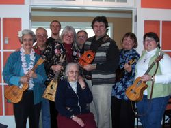 Playing for Project Independence in Middlebury, VT in 2008