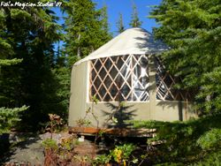 Olallie Lake Yurt
