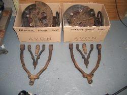 Box of suspension bits