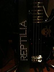 Bone's new Guitar Strap