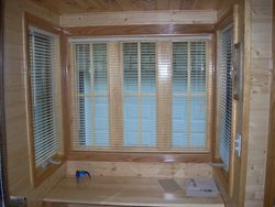 Inside view of blinds